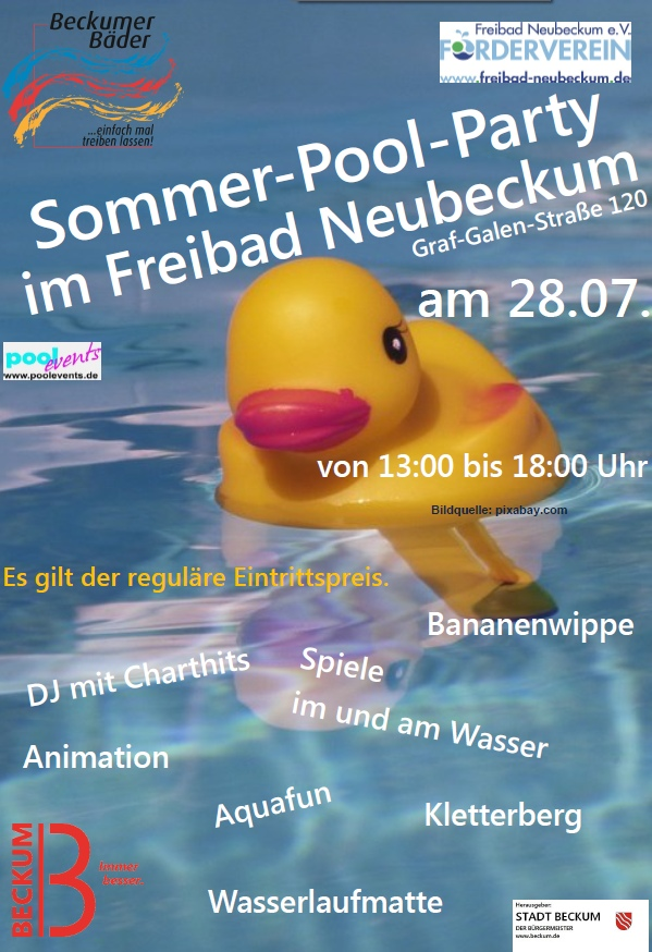 Pool-Party 2017