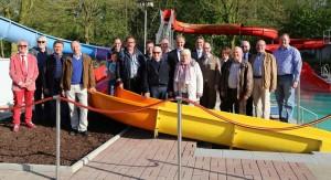 Aktivitäten  FVFNB 2016 Einweihung Kinderrutsche Freibad Neubeckum4