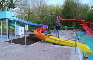 Aktivitäten  FVFNB 2016 Einweihung Kinderrutsche Freibad Neubeckum 5