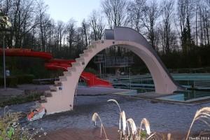 Demontage Kinderrutsche Freibad Neubeckum 12 a